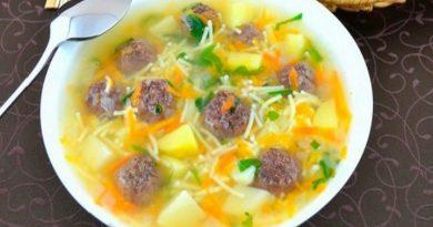 Суп с фрикадельками. Рецепты приготовления супа с фрикадельками из фарша