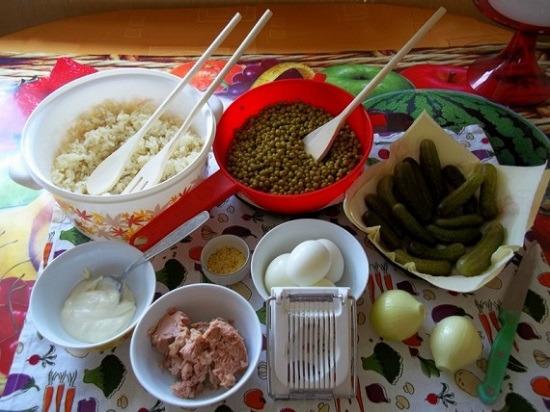 Поготовить ингредиенты