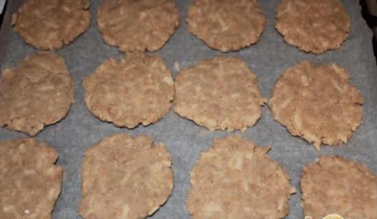 Формируем из теста печенье