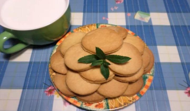 Песочное печенье на смальце