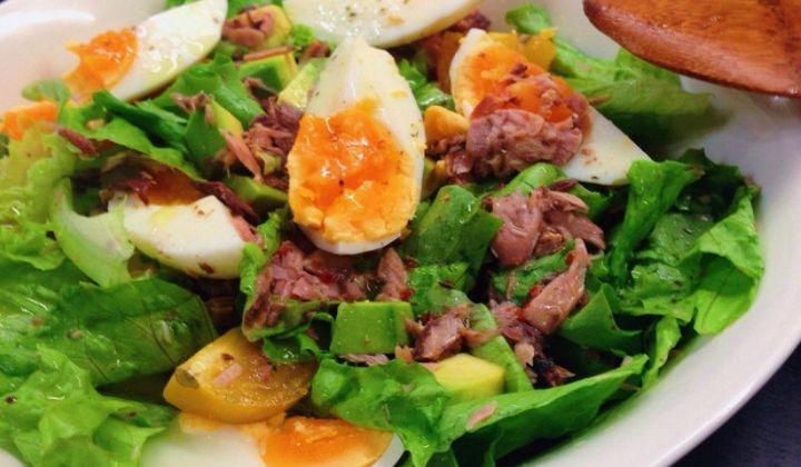 Картинки по запросу салат авокадо тунец