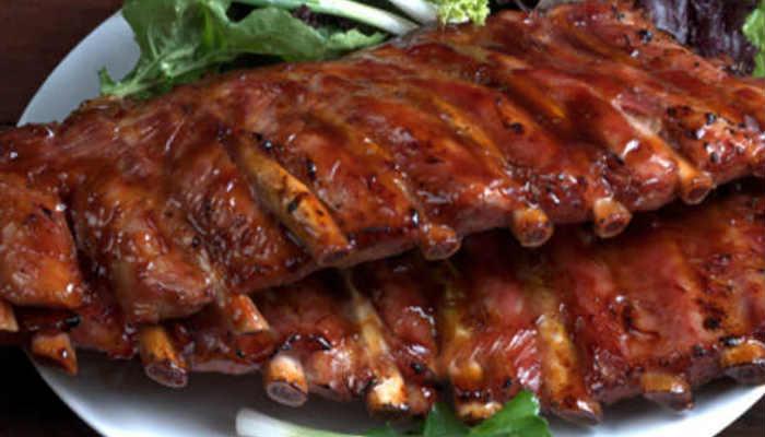 Как пожарить свиные ребрышки в духовке