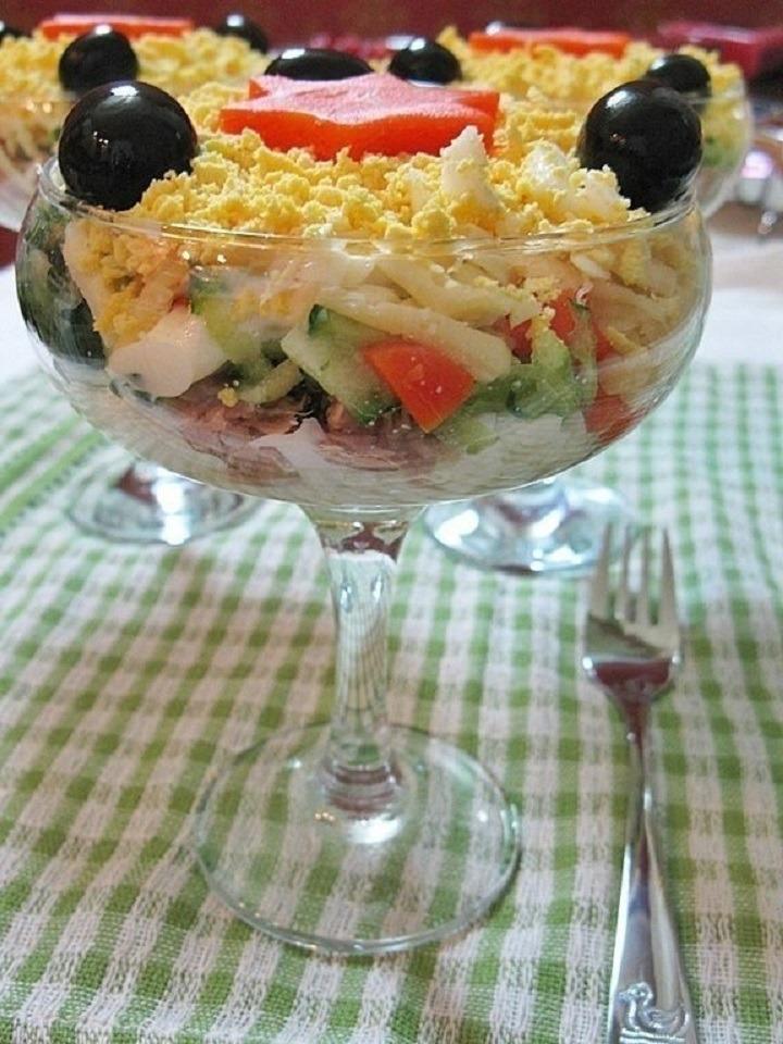 Закуска с тунцом и морковью