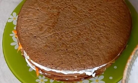 выложить все слои торта