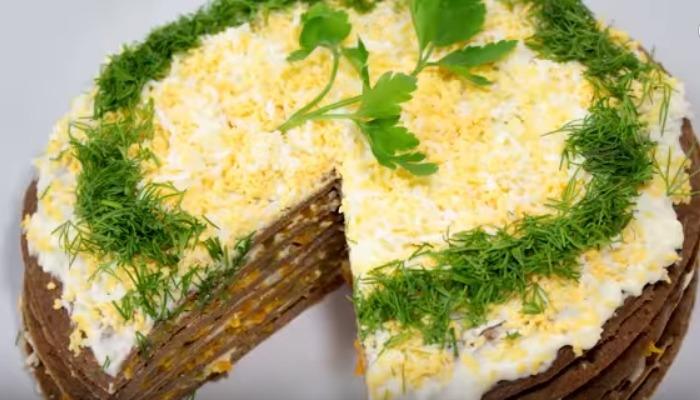 торт с морковью и луком