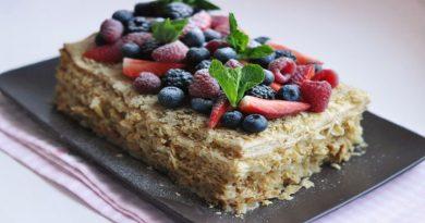 Торт наполеон. Самый вкусный и простой рецепт классического торта с заварным кремом в домашних условиях