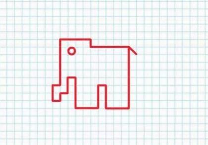 5_diktant Рисунки по клеточкам в тетради для начинающих, лёгкие и сложные