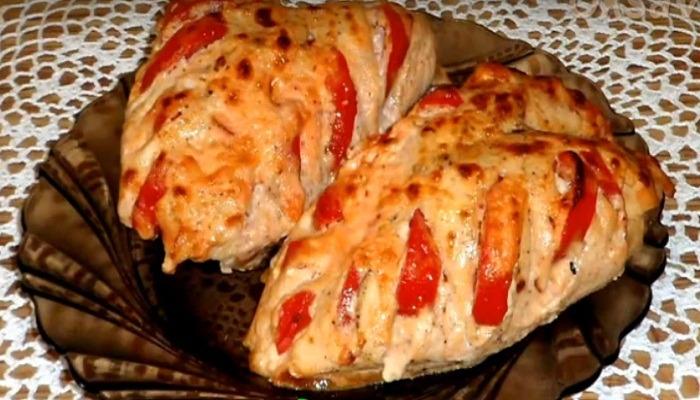 грудка с болгарским перцем