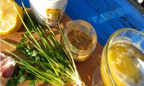 игредиенты крылышки в медовом соусе