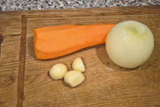 Чищенные овощи