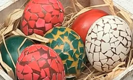 красивые яйца