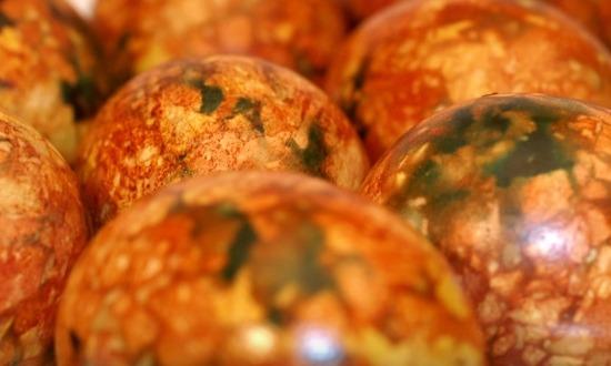 оформленные яйца