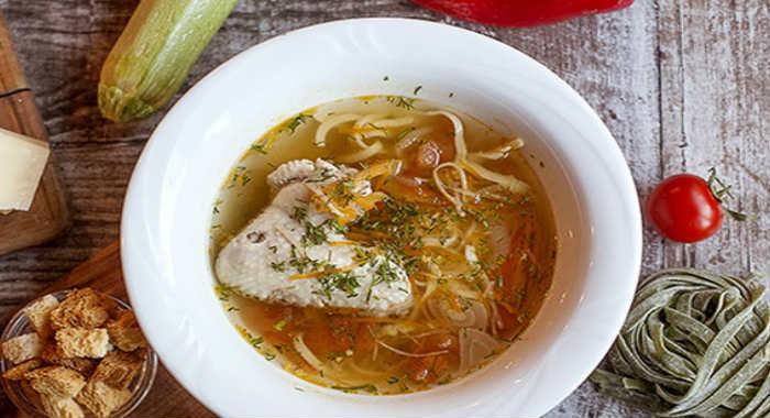 Куриный суп с лапшой, 6 простых рецептов вкусного супа с курицей