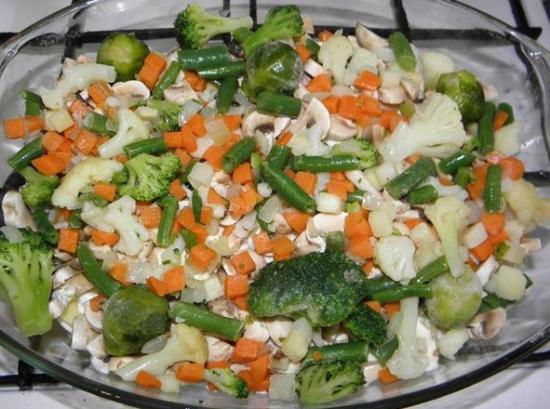 Овощной слой