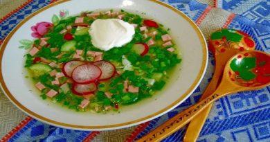 Рецепты классической окрошки с колбасой на воде с уксусом