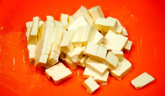 порезанный сыр