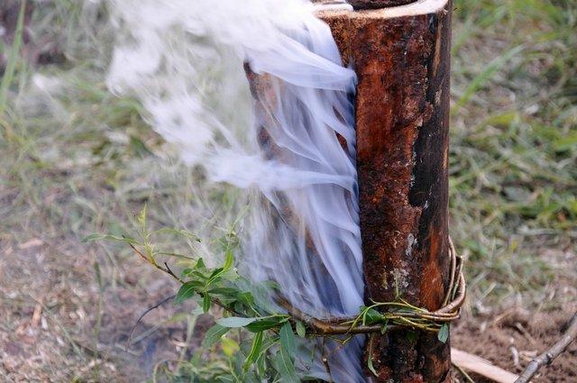 дымовая завеса от комаров