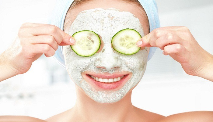 toning mask for dry and sensitive skin