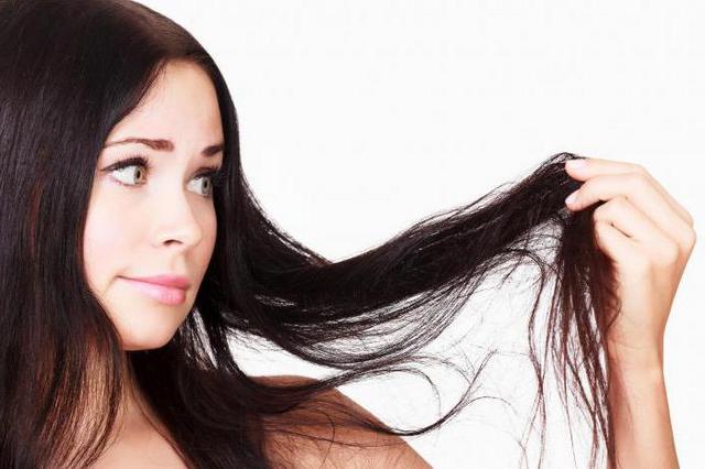 Beautiful hair - hair care at home