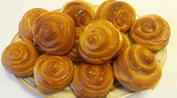 Пышные сдобные домашние сладкие булочки - 6 рецептов выпечки