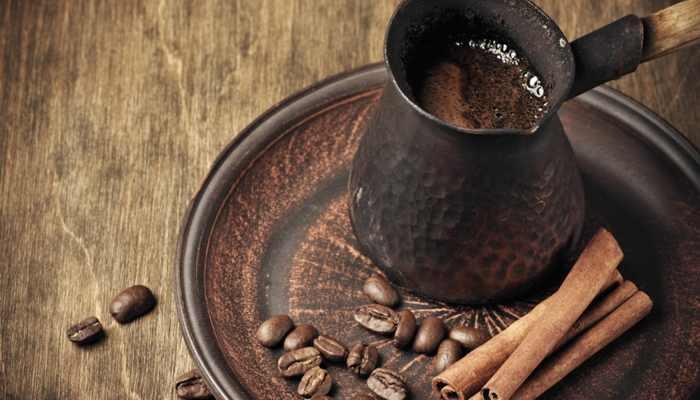 как сварить кофе в турке