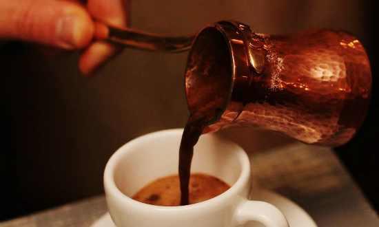 Кофе по-французски в турке
