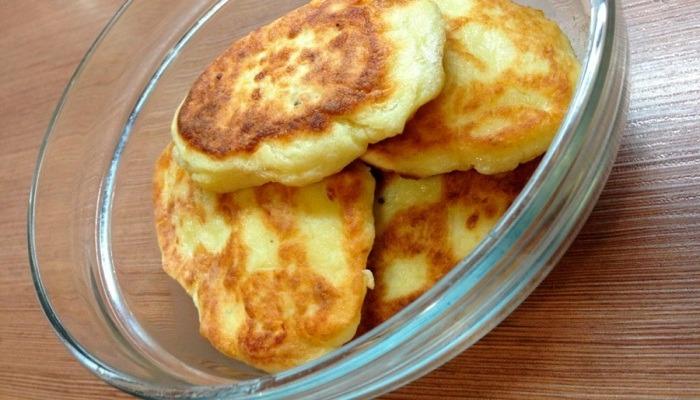 Драники из картофельного пюре