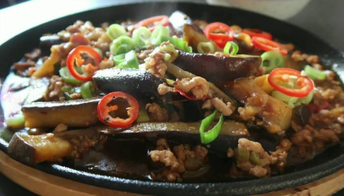 Баклажаны по-китайски с мясом