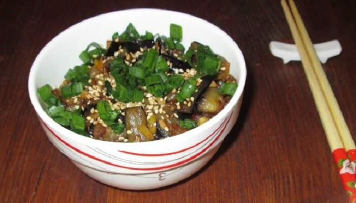 баклажаны по-китайски в карамели