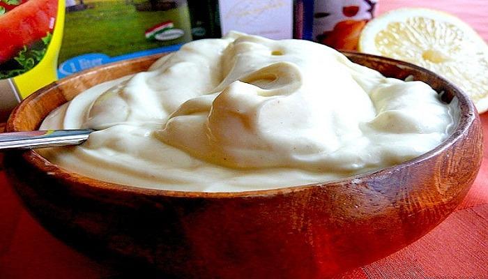 домашний майонез без яиц
