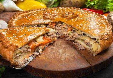Пироги с мясом в духовке — простые рецепты приготовления вкусных домашних пирогов