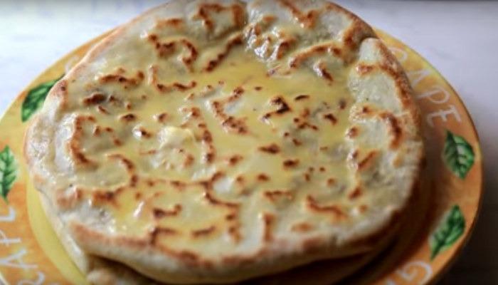 Кабардинский пирог с мясом