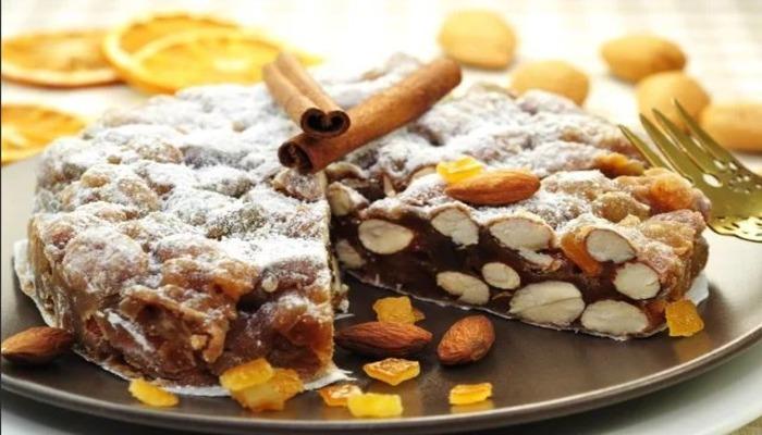 Итальянский пирог «Панфорте»