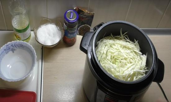 добавляем капусту