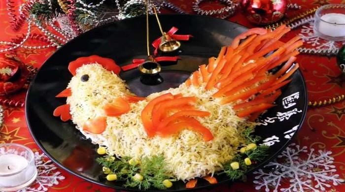 Салаты на Новый год по китайскому календарю - 12 салатов на каждый год