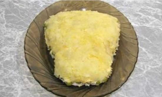 натереть на терке картофель
