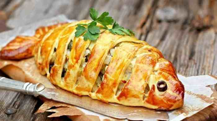 Рыбный пирог на скорую руку — простые рецепты быстрого приготовления в духовке вкусных пирогов с рыбой