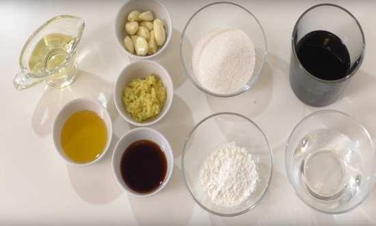 подготовленные ингредиенты