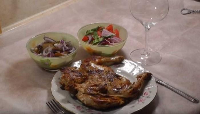 цыпленок табака по грузински