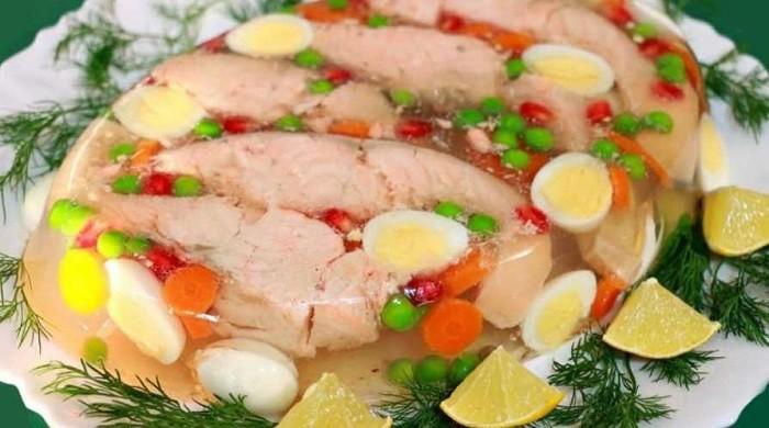 Заливное из рыбы с желатином — как вкусно приготовить и красиво подать на праздничный стол