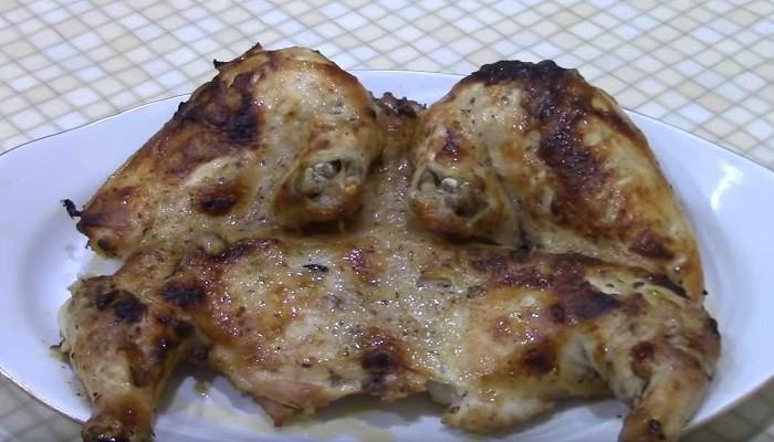 цыпленок табака в духовке