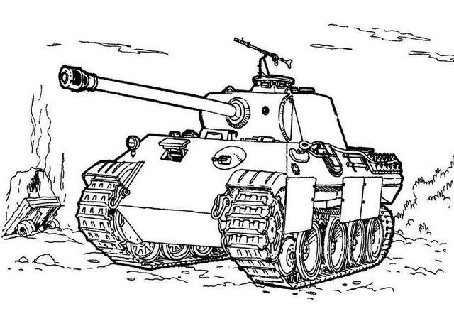 эскиз танка
