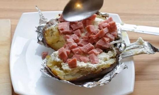 картошка готово
