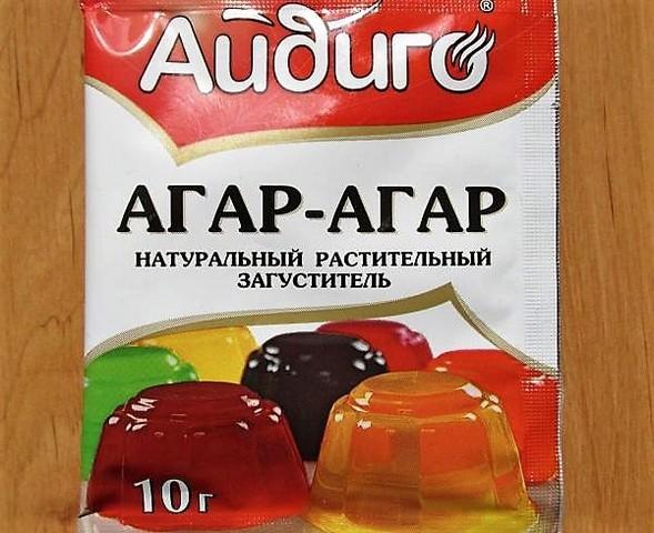 пакет агар-агара