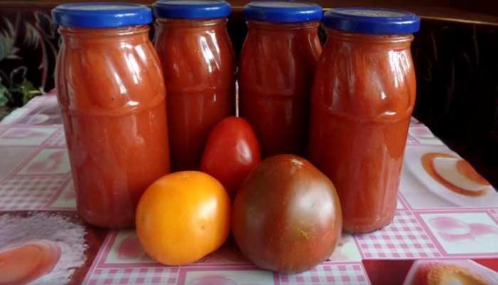Соус ткемали с помидорами