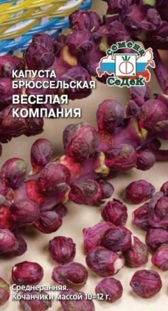 сорт Весёлая капуста