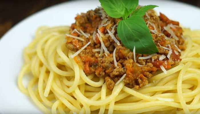 Соус Болоньезе для спагетти