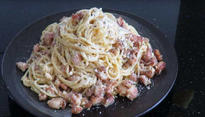 Соус Карбонара для спагетти