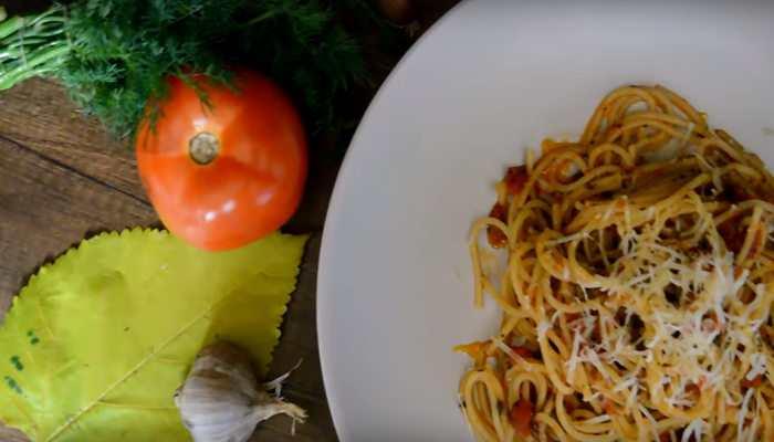 Соус с помидорами и чесноком