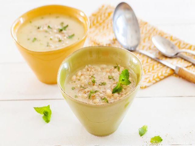 суп с полбой